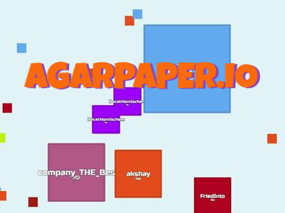 AgarPaper.io | Игра АгарПайпер ио