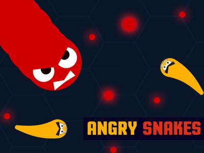 AngrySnakes.io |  Злой слизарио ЭнгриСнейкс ио