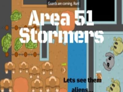 Area51.io   Игра штурм Зоны 51