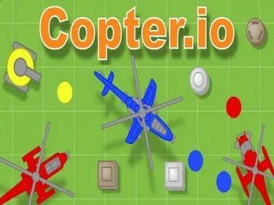 Copter.io   Вертолетики Коптер ио