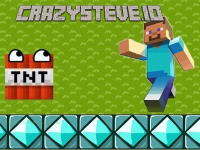 CrazySteve.io | Игра сумасшедший КрейзиСтив ио