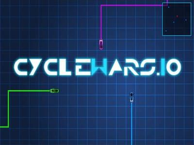 Cyclewars.io | Змейка на выживание Сайкварс ио