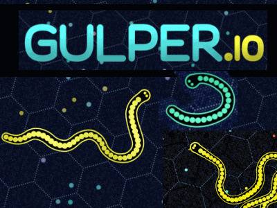 Gulper.io   Змейка Гулпер ио