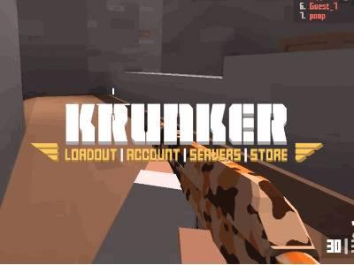 Krunker.io | 3D шутер Кранкер ио
