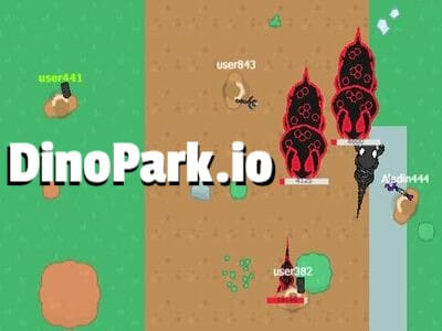 DinoPark.io | Стрелялка Динопарк ио