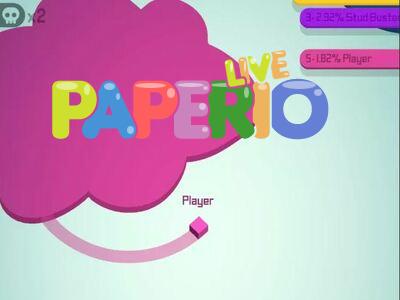 Paperio.live   Захват карты Пайпер лайв ио