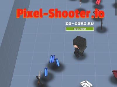 Pixel-Shooter.io | Пиксельный Шутер ио