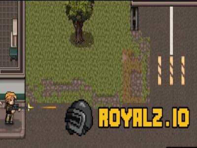 Royalz.io | Пиксельный шутер Роялз ио