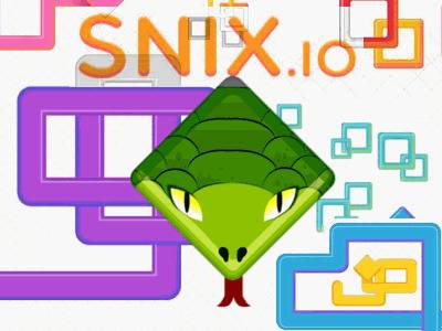 Snix.io | Змейка Сникс ио