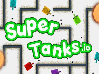 Supertanks.io | Танки в лабиринте СуперТанкс ио