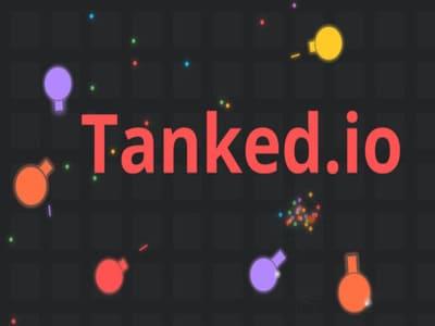 Tanked.io | Танки по сети Танкед ио